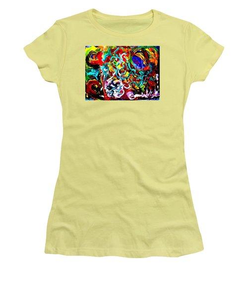 Power Of Colour Women's T-Shirt (Athletic Fit)