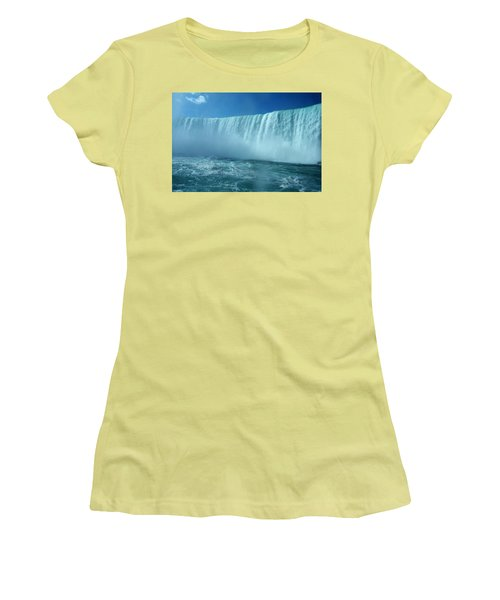 Power Of Water Women's T-Shirt (Athletic Fit)