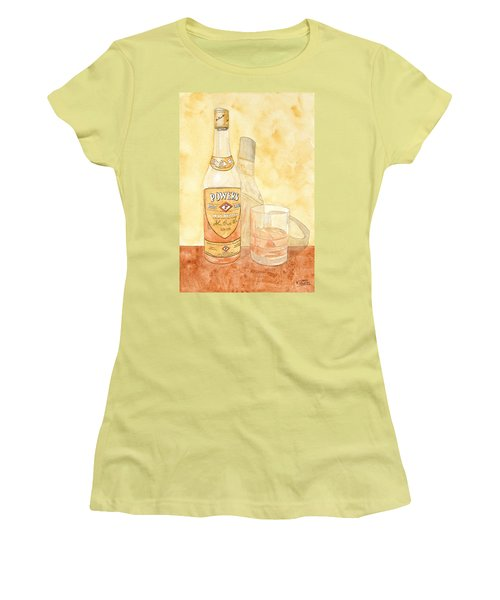 Powers Irish Whiskey Women's T-Shirt (Athletic Fit)