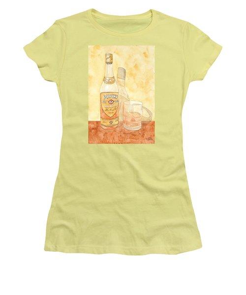 Powers Irish Whiskey Women's T-Shirt (Athletic Fit)