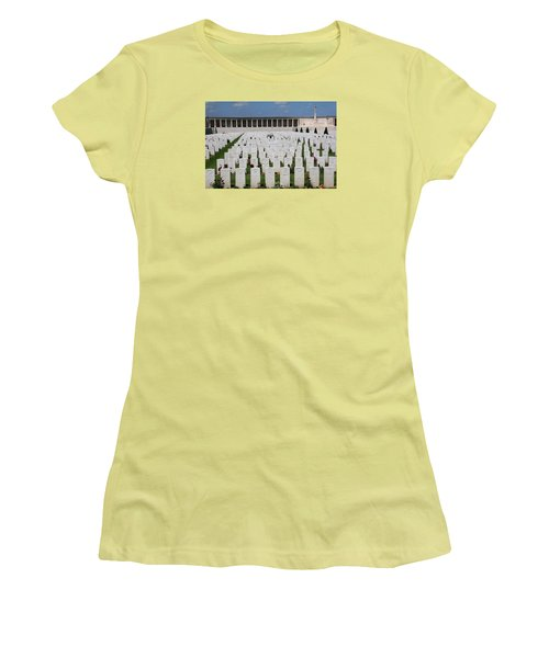 Pozieres British Cemetery Women's T-Shirt (Athletic Fit)