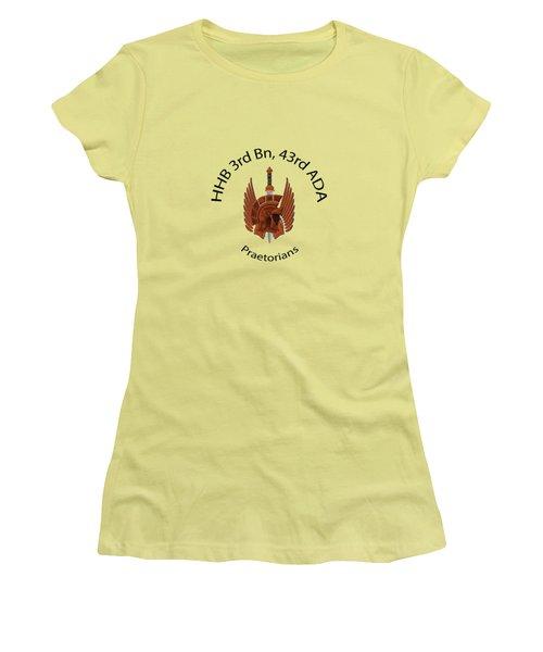 Praetorians Women's T-Shirt (Junior Cut) by Dan McManus