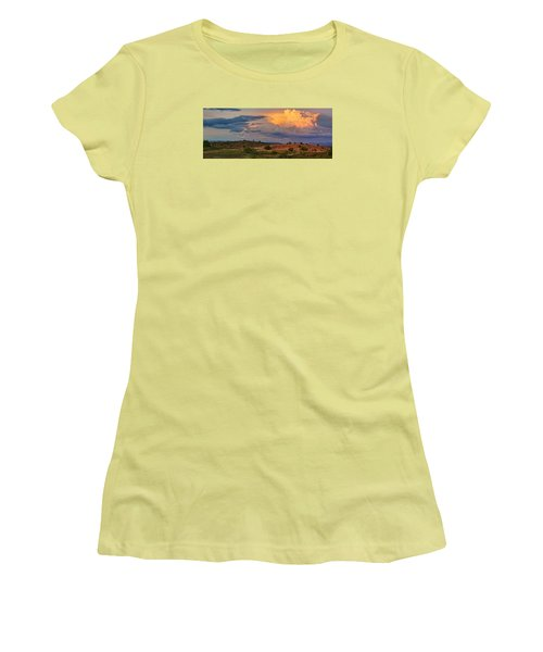Prairie Skies Women's T-Shirt (Athletic Fit)