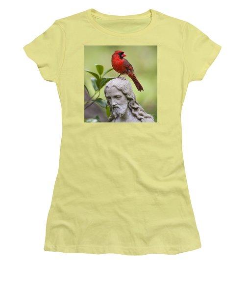 Praise The Lord Women's T-Shirt (Junior Cut) by Bonnie Barry