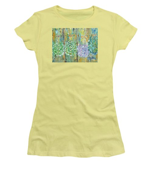 Preserved Herbs Women's T-Shirt (Junior Cut) by Evelina Popilian