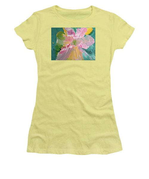 Pretty In Pastels Women's T-Shirt (Junior Cut) by Karen Nicholson