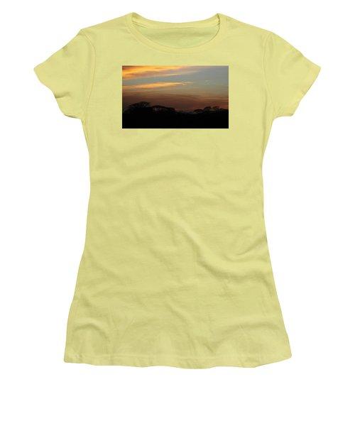 Pretty Pastel Sunset Women's T-Shirt (Junior Cut) by Ellen O'Reilly