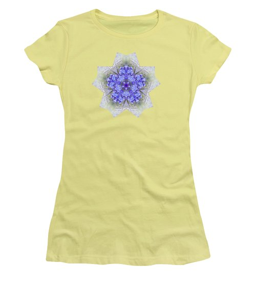 Pretty Wisteria Kaleidoscope By Kaye Menner Women's T-Shirt (Junior Cut) by Kaye Menner