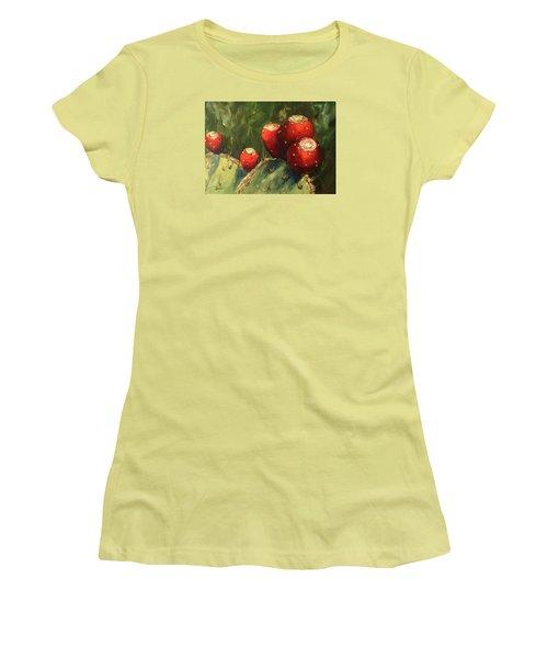 Prickly Pear IIi Women's T-Shirt (Junior Cut) by Torrie Smiley