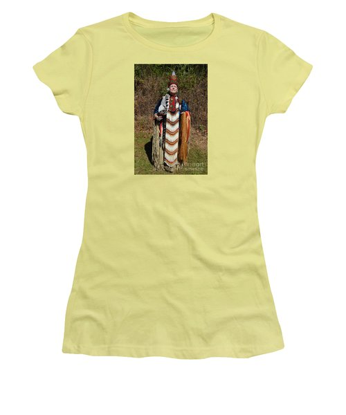 Pride In Heritage Women's T-Shirt (Junior Cut) by Lew Davis