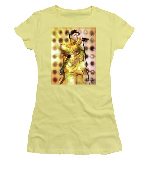 Prince Diamonds And Pearls Women's T-Shirt (Athletic Fit)