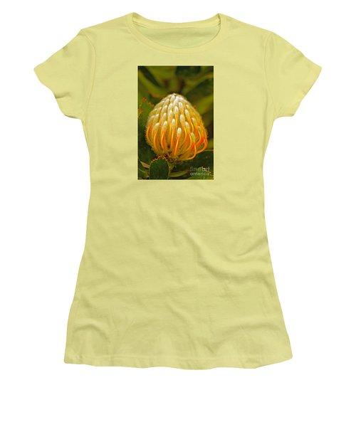 Proteas Ready To Blossom  Women's T-Shirt (Junior Cut) by Michael Cinnamond