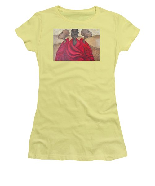 Protectors Women's T-Shirt (Junior Cut) by Jenny Pickens