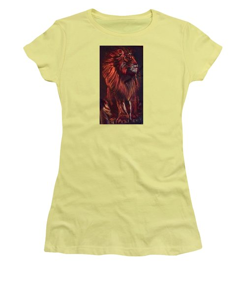 Proud King Women's T-Shirt (Junior Cut) by Ellen Canfield