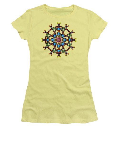 Psychedelic Mandala 010 A Women's T-Shirt (Athletic Fit)