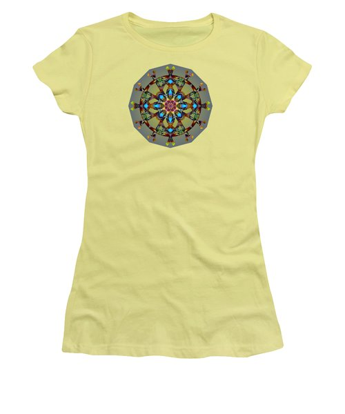 Psychedelic Mandala 010 B Women's T-Shirt (Athletic Fit)