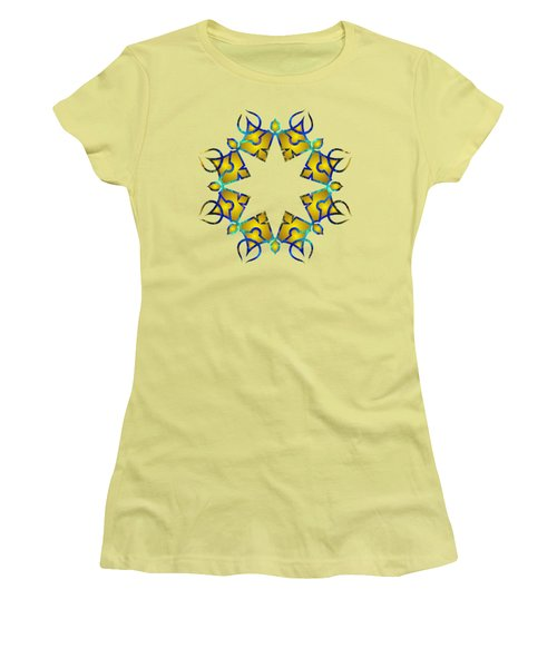 Psychedelic Mandala 011 A Women's T-Shirt (Athletic Fit)