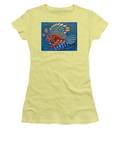 Pterois Women's T-Shirt (Athletic Fit)