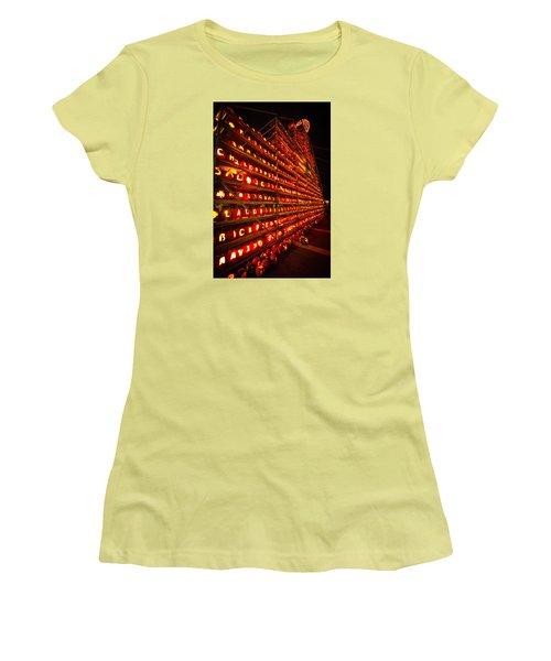Pumpkin Festival 2015 Women's T-Shirt (Junior Cut) by Robert Clifford