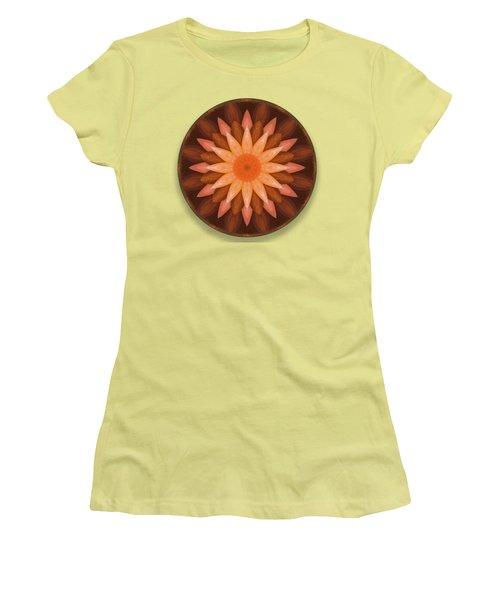 Pumpkin Mandala -  Women's T-Shirt (Athletic Fit)