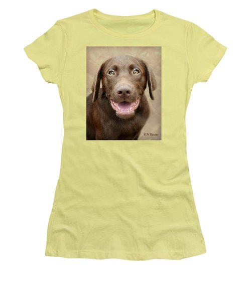 Puppy Power Women's T-Shirt (Athletic Fit)