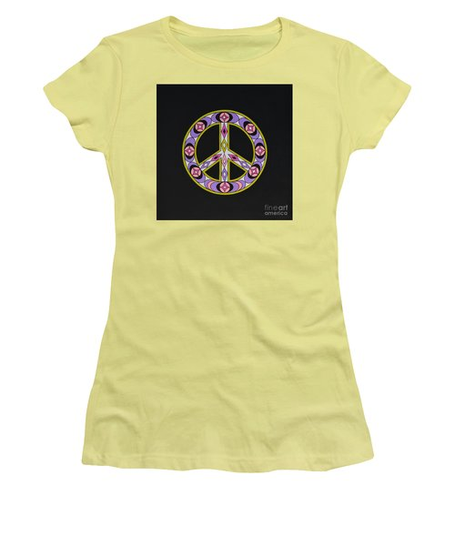 Pure Peace Women's T-Shirt (Athletic Fit)