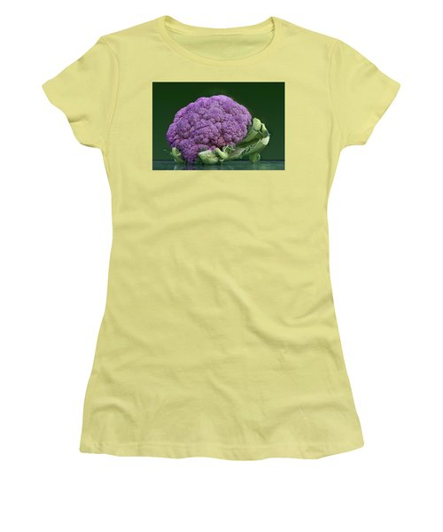 Purple Cauliflower Women's T-Shirt (Athletic Fit)