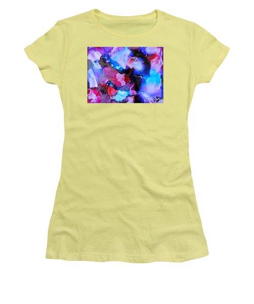 Purple Magic Women's T-Shirt (Athletic Fit)