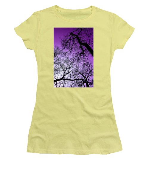 Purple Sky Women's T-Shirt (Athletic Fit)