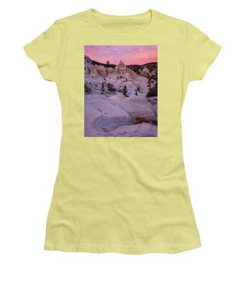 Women's T-Shirt (Junior Cut) featuring the photograph Pyramids  by Dustin LeFevre