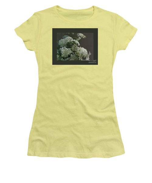 Women's T-Shirt (Junior Cut) featuring the photograph Queen's Bouquet by Patricia Overmoyer