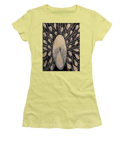 Quiet Ways Women's T-Shirt (Junior Cut) by Lisa Aerts
