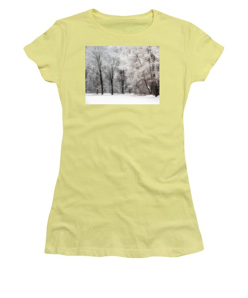 Quiet Winter  Women's T-Shirt (Athletic Fit)