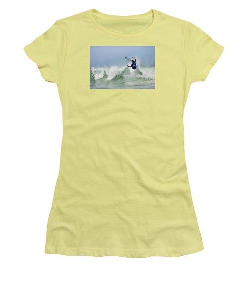 Quiksilver Pro France I Women's T-Shirt (Junior Cut) by Thierry Bouriat