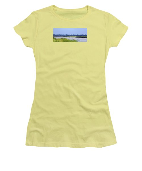 Quivira Refuge Women's T-Shirt (Athletic Fit)