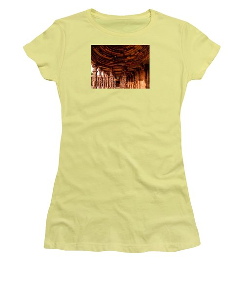 Qutub Minar Women's T-Shirt (Junior Cut) by M G Whittingham