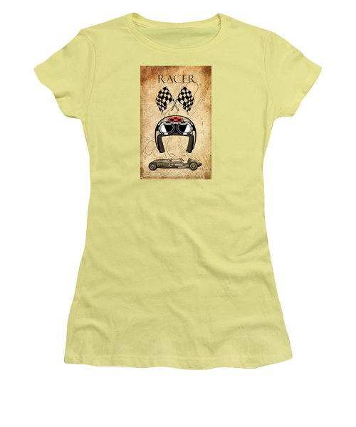 Racer Women's T-Shirt (Athletic Fit)