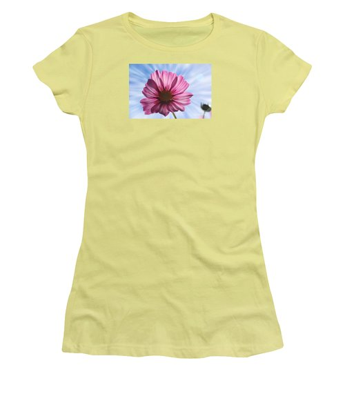 Women's T-Shirt (Junior Cut) featuring the photograph Radiant Cosmos by Yumi Johnson