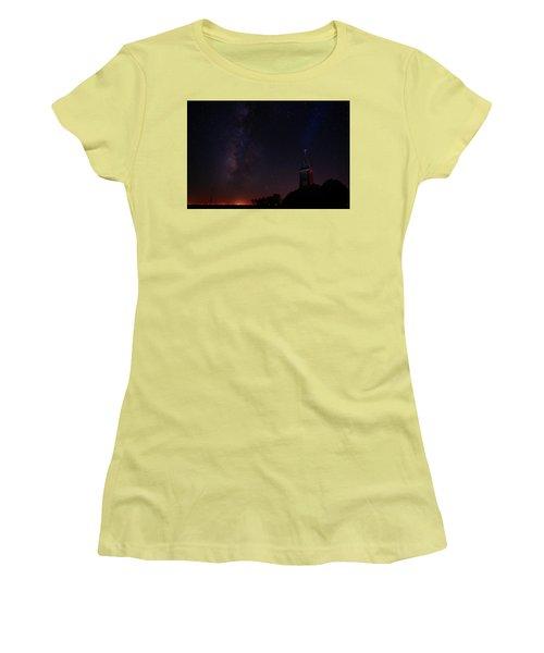 Women's T-Shirt (Junior Cut) featuring the photograph Radiant Light by Jonathan Davison
