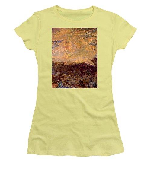 Radiant Light Women's T-Shirt (Junior Cut) by Nancy Kane Chapman
