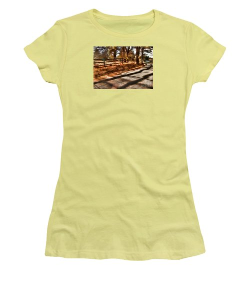 Women's T-Shirt (Junior Cut) featuring the photograph Radiating by Betsy Zimmerli