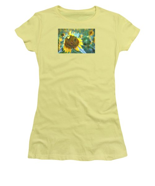 Rag A Muffin Painting Women's T-Shirt (Athletic Fit)