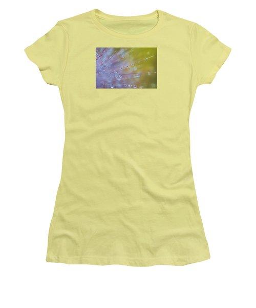 Rain Drops - 9753 Women's T-Shirt (Junior Cut) by G L Sarti