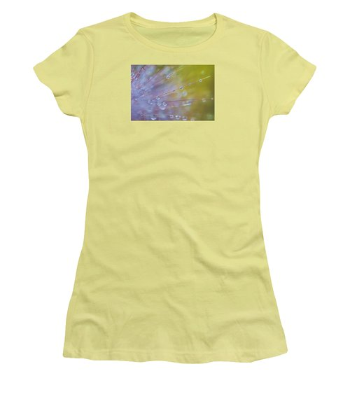 Rain Drops - 9753 Women's T-Shirt (Athletic Fit)