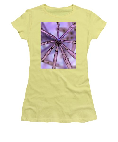 Rain Drops Women's T-Shirt (Junior Cut)