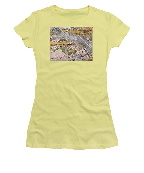 Rain In The  Valley Women's T-Shirt (Athletic Fit)