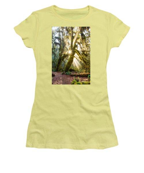 Rainforest Magic Women's T-Shirt (Athletic Fit)