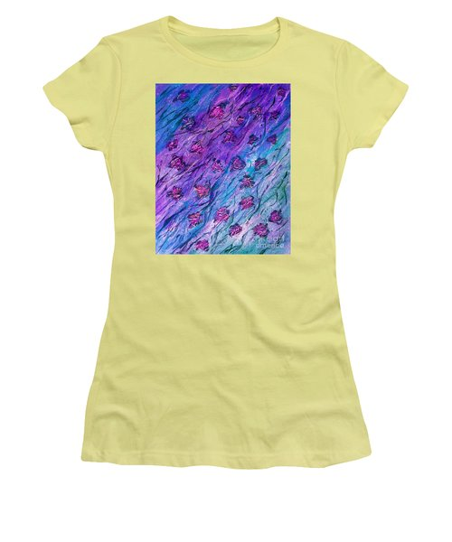 Rainy Days And Sundays  Women's T-Shirt (Athletic Fit)