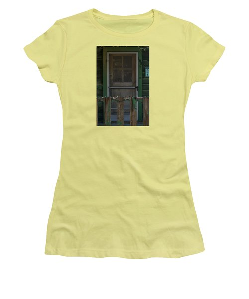 Randsburg Door No. 3 Women's T-Shirt (Athletic Fit)