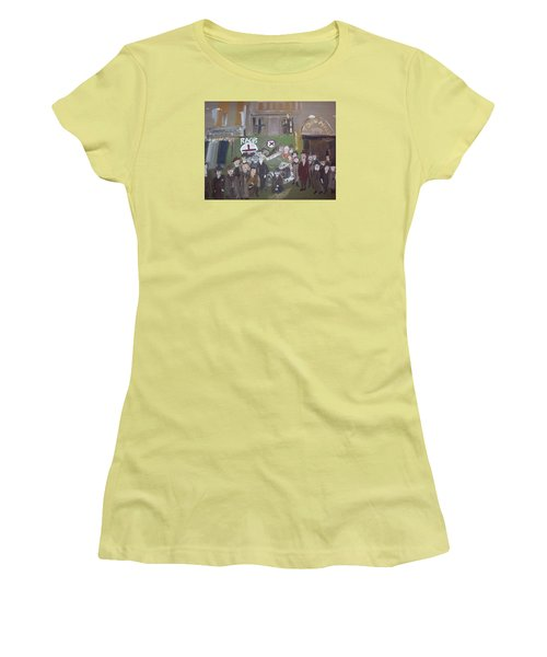 Raob Ambulance Women's T-Shirt (Junior Cut) by Judith Desrosiers